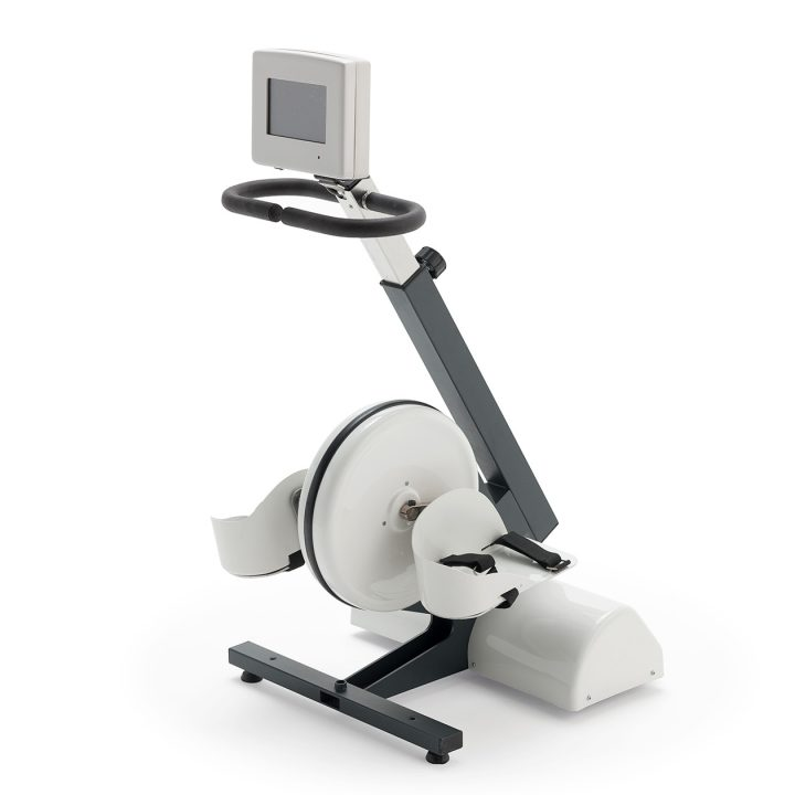 Motorisiertes stationäres Fahrrad-Ergometer für die Physiotherapie