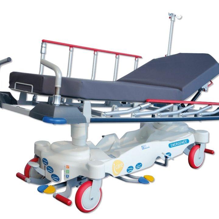 Die Transportliege I-CARE Emergency ist eine besonders wendige Liege.